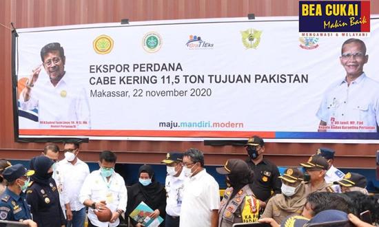 Bea Cukai Lepas Ekspor Perdana di Makassar serta Ternate, Tujuannya ke Pakistan dan Singapura - JPNN.com