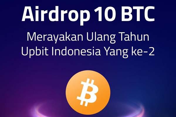 Upbit Bagi-Bagi Airdrop 10 BTC - JPNN.com
