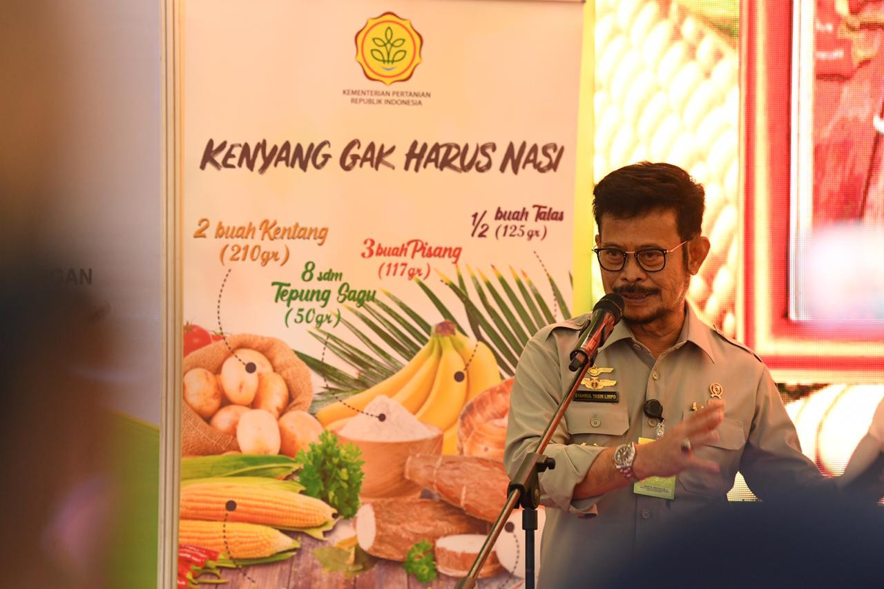 Perluas Pasar Pangan Lokal, Mentan SYL Dorong UMKM Go Digital - JPNN.com