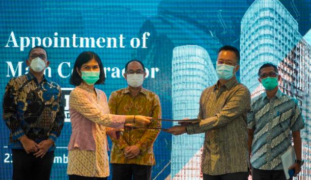Intiland Tunjuk Total Bangun Persada jadi Kontraktor Utama Apartemen SQ Res - JPNN.com