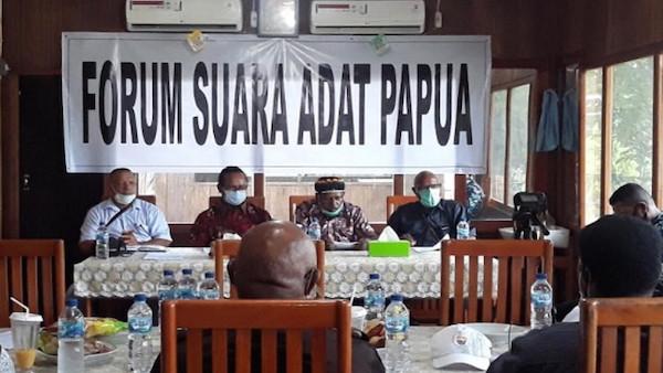 4 Tokoh Adat Papua dan Tokoh Pemuda Gelar Pertemuan, Ini Kesepakatannya - JPNN.com