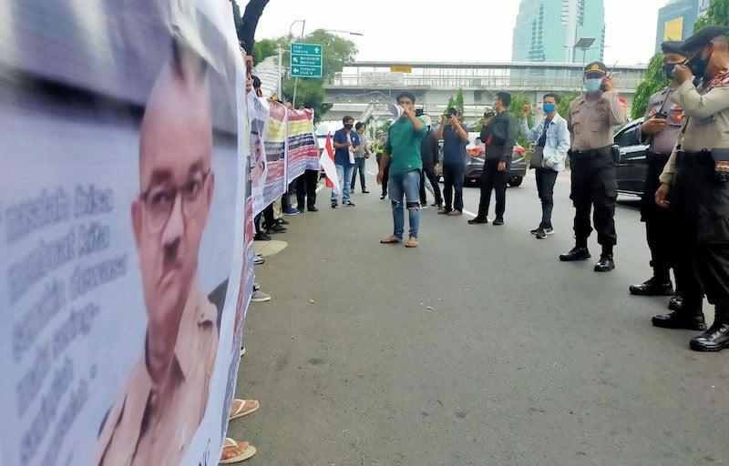 Gelar Demo di Polda Metro, Mahasiswa Desak Polisi Segera Usut Anies - JPNN.com
