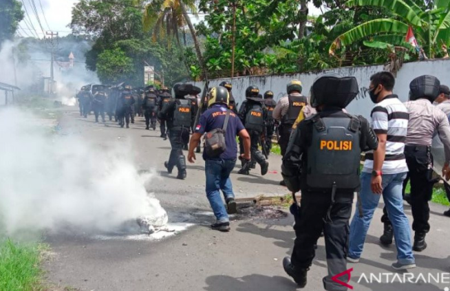 Polisi Tangkap 36 Orang terkait Demo Papua Merdeka - JPNN.com