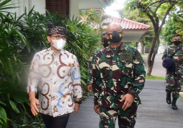 Danlantamal V Laksma TNI Mohamad Zaenal Bertemu Bupati Banyuwangi, Nih Agendanya - JPNN.com