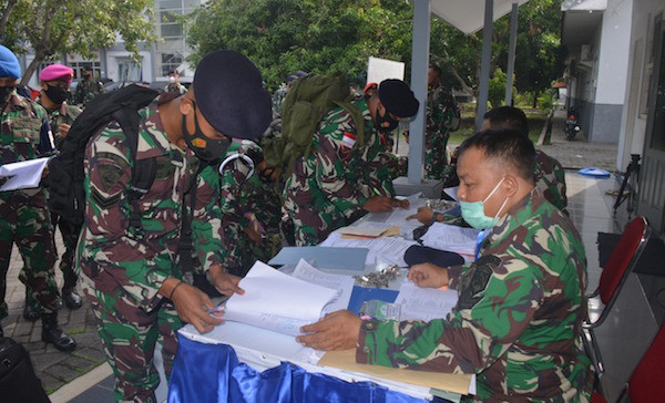 Pesan Penting Kolonel Tony Kepada 157 Prajurit TNI AL Wilayah Timur - JPNN.com