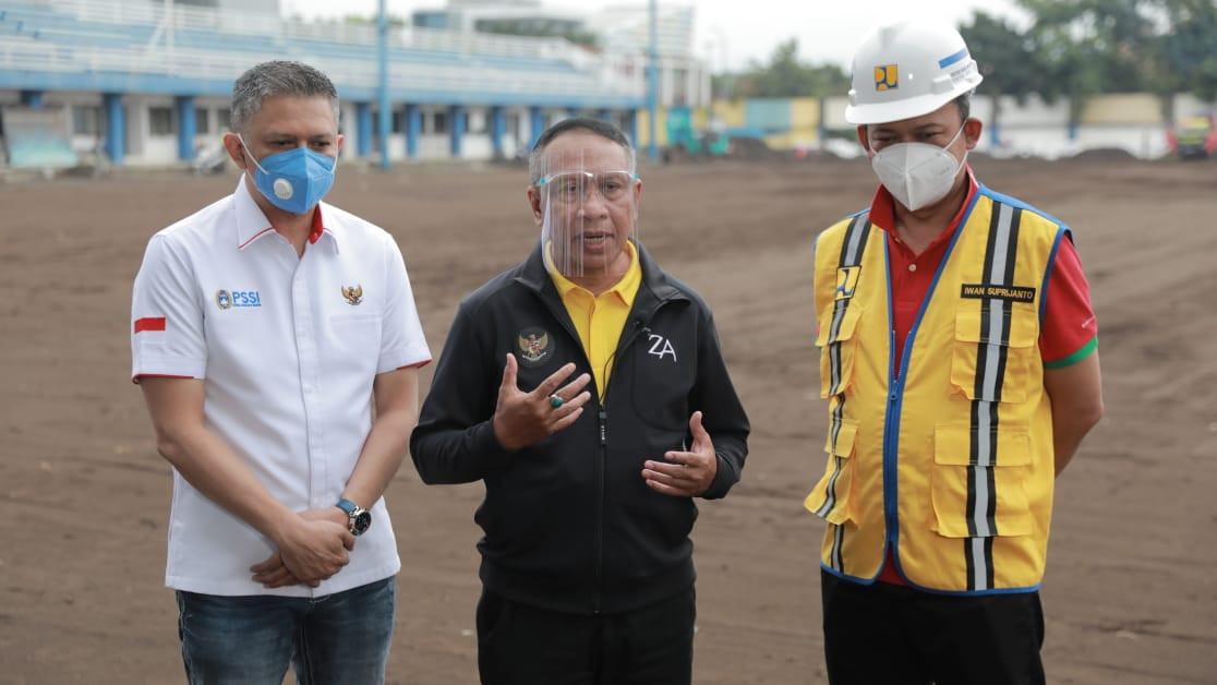 Menpora: Pembenahan Infrastruktur Stadion Penting untuk Kemajuan Sepak Bola Indonesia - JPNN.com