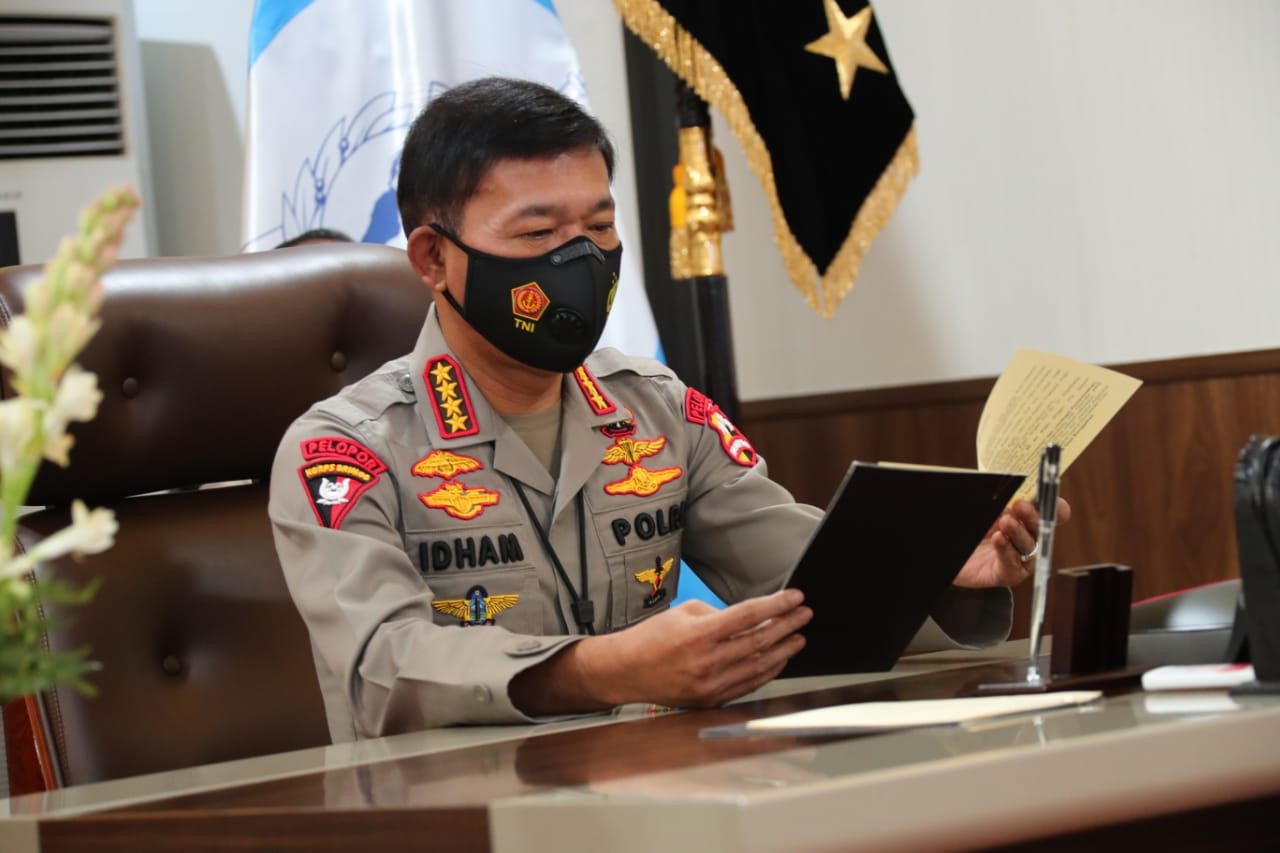 Jenderal Idham Ajak Semua Polisi Dukung Komjen Listyo Jadi Kapolri - JPNN.com