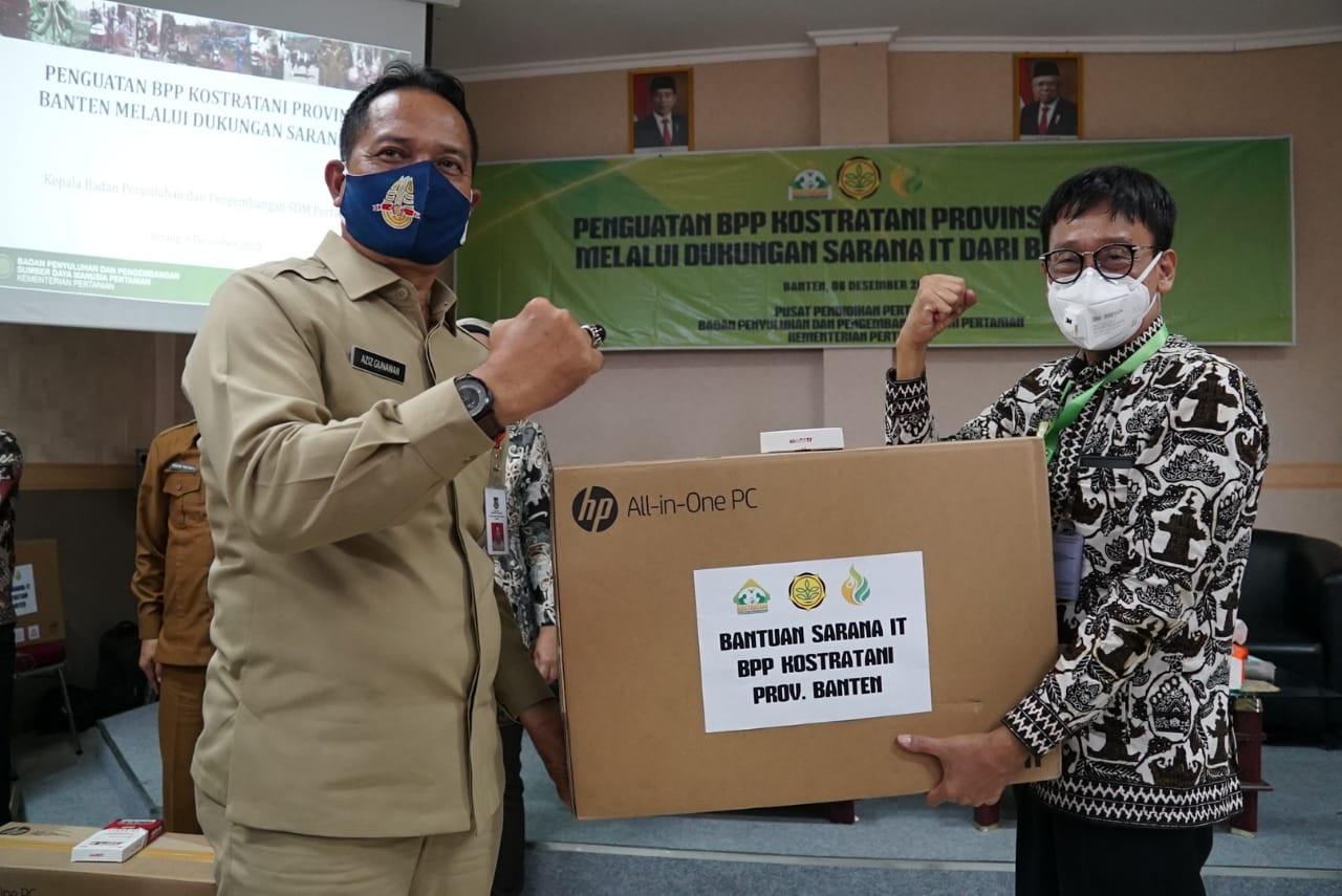 Kementan Salurkan 73 Paket IT ke BPP Banten - JPNN.com