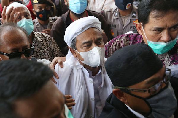 Info Terkini Kesehatan Habib Rizieq, Aziz: Mohon Doanya - JPNN.com