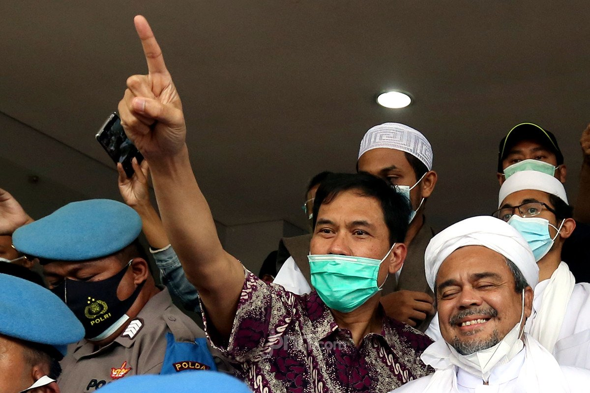 Gelar Perkara 92 Rekening FPI Melibatkan Densus 88 Antiteror, Munarman: Sesat - JPNN.com