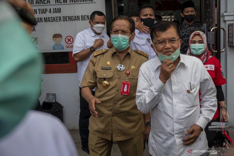 Pak JK Minta PMI Daerah Produksi Plasma Konvalesen Covid-19 - JPNN.com