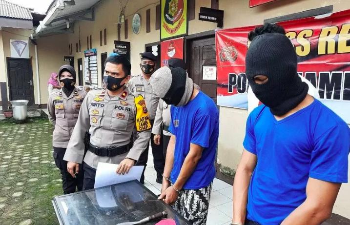 3 Anggota Geng Motor Bercelurit Penyerang Pengendara Motor Ini Akhirnya Diringkus - JPNN.com