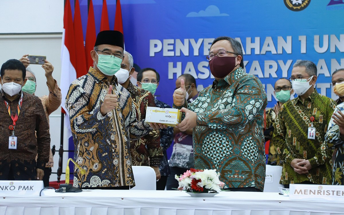 GeNose C19 dan CePAD Bakal Jadi Pendeteksi Utama Covid-19 di Indonesia - JPNN.com