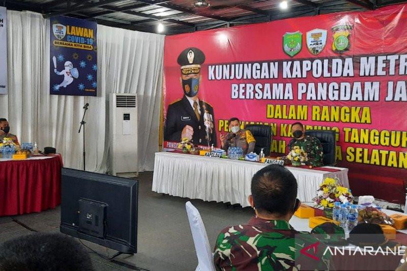 Irjen Fadil & Mayjen Dudung Turun Langsung ke Kampung Tangguh Jaya - JPNN.com