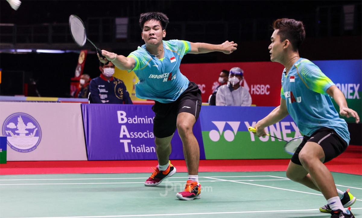 Yonex Thailand Open: Pukul Senior, Leo/Daniel jadi Wakil ke-6 Indonesia di 8 Besar - JPNN.com