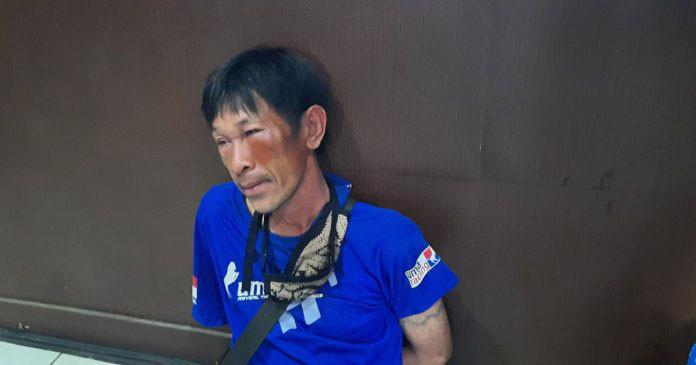Curi Jaket Polisi di Masjid, Herizal Diamuk Warga Jadi Kayak Begini - JPNN.com