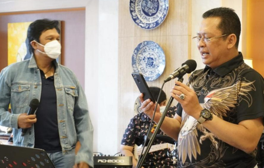 Duet Bamsoet-Ikang Fawzi Undi Giveaway Putaran 14 - JPNN.com