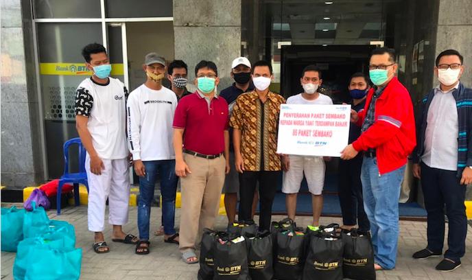 BTN Salurkan Bantuan untuk Korban Bencana di Sulbar dan Kalsel - JPNN.com