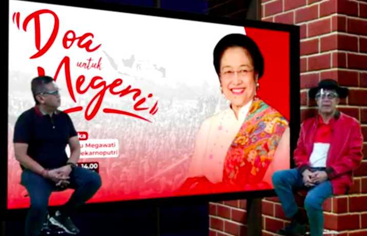 Lihat yang Dilakukan Dua Petinggi PDIP Ini di Hari Ulang Tahun Bu Mega - JPNN.com