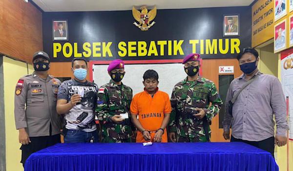 Dikejar Prajurit Marinir TNI AL, HS Akhirnya Tak Berkutik, Nih Penampakannya - JPNN.com