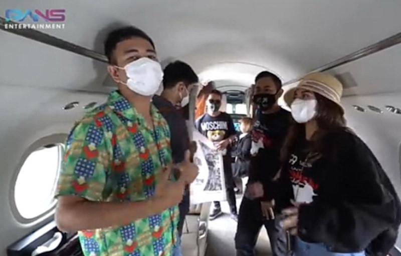 Raffi Ahmad Takjub Mas Gilang Bisa Beli Jet Pribadi  - JPNN.com
