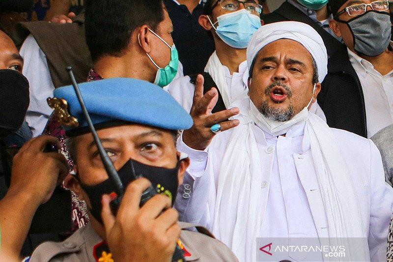Begini Aktivitas Habib Rizieq Selama Ditahan Dua Bulan, Sungguh Mulia - JPNN.com