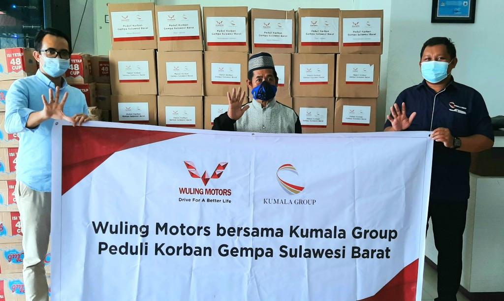 Cara Wuling Motors Membantu Para Korban Gempa Bumi Sulbar - JPNN.com