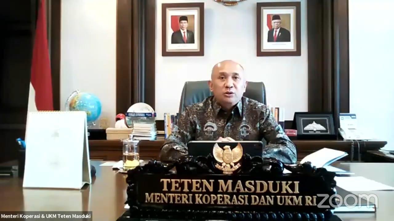 Menteri Teten Menekankan Pentingnya Keberlanjutan Program ...