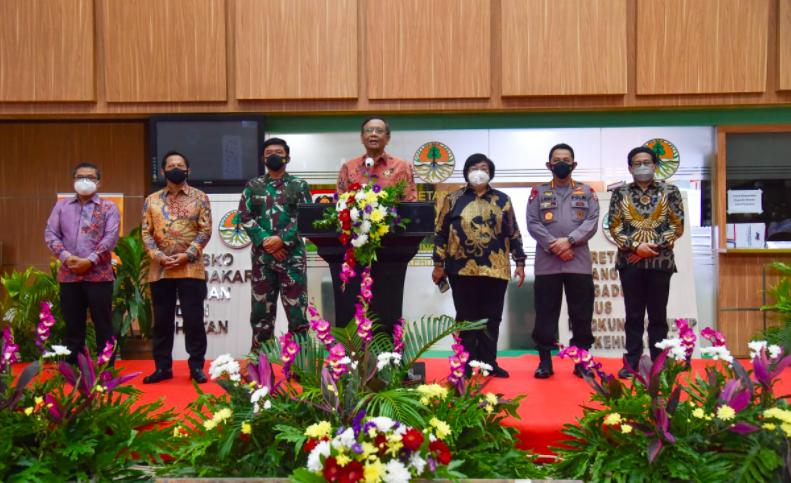 Para Menteri, TNI-Polri dan 7 Gubernur Berkumpul Bahas Antisipasi Karhutla 2021 - JPNN.com