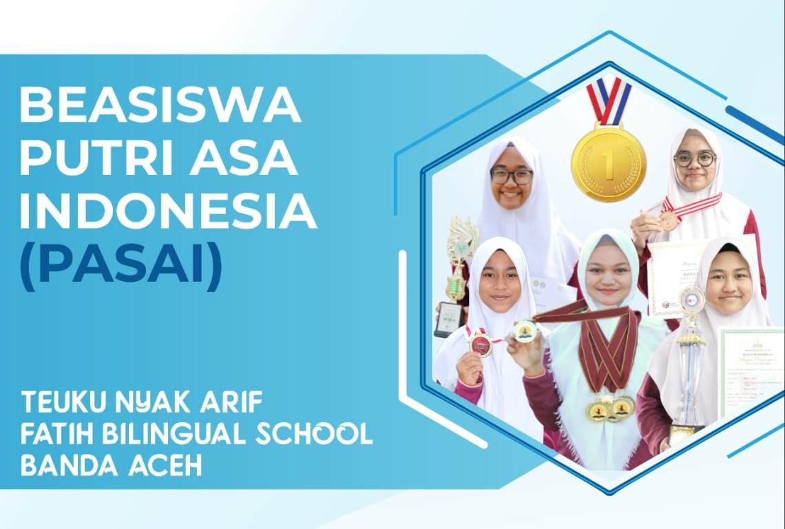 Ada Beasiswa PASAI dari Sekolah Teuku Nyak Arif Fatih Bilingual School - JPNN.com