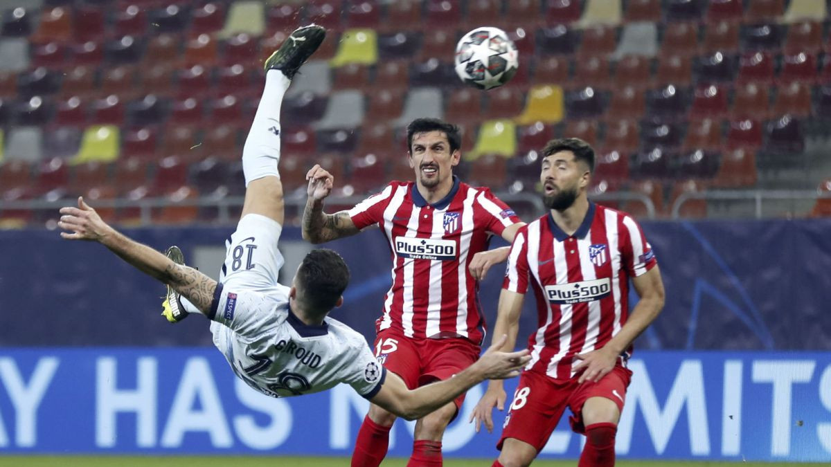Gol Fantastis Giroud Bawa Chelsea Kalahkan Atletico Madrid - JPNN.com