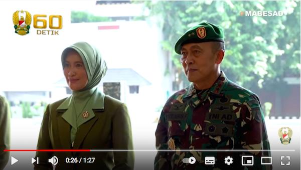 Daftar Nama 43 Pati TNI AD Terkena Mutasi Termasuk