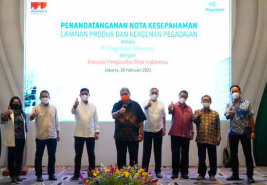 Jalin Sinergi Produk dan Layanan, Aprindo Gandeng Pegadaian - JPNN.com