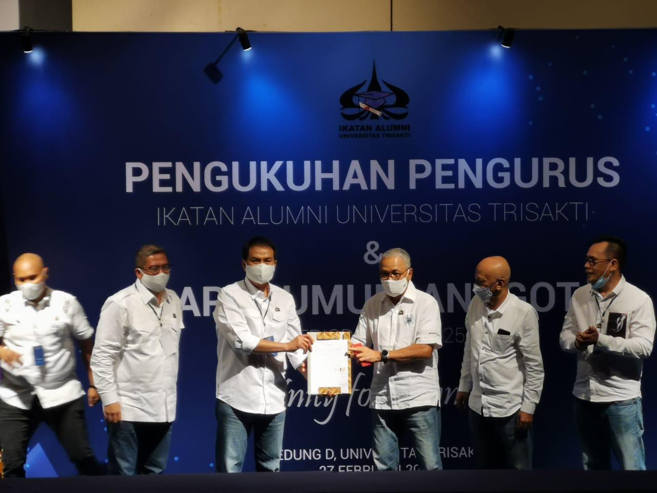 Azis Optimistis Menyatukan Pandangan Alumni Trisakti demi Almamater dan Negara - JPNN.com
