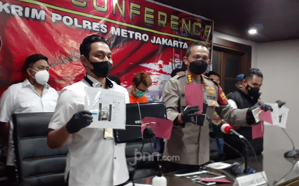 Polisi Sempat Kejar-kejaran dengan Tersangka Penyebar Video Diduga Mirip Gabriella Larasati - JPNN.com