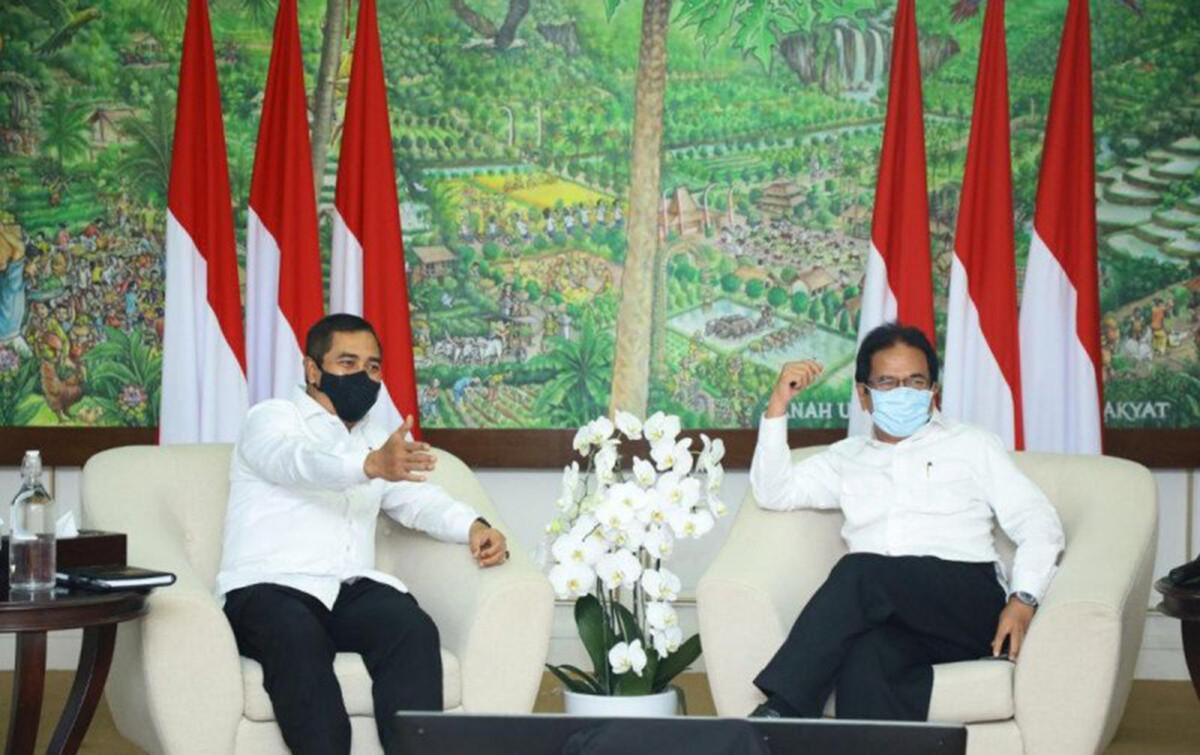 Kunjungi Menteri ATR/BPN, Komjen Agus Andrianto Tegaskan Komitmen Berantas Mafia Tanah - JPNN.com