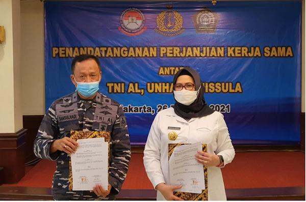 Tingkatkan SDM Kesehatan, TNI AL Bekerja Sama dengan Unhan dan Unissula - JPNN.com