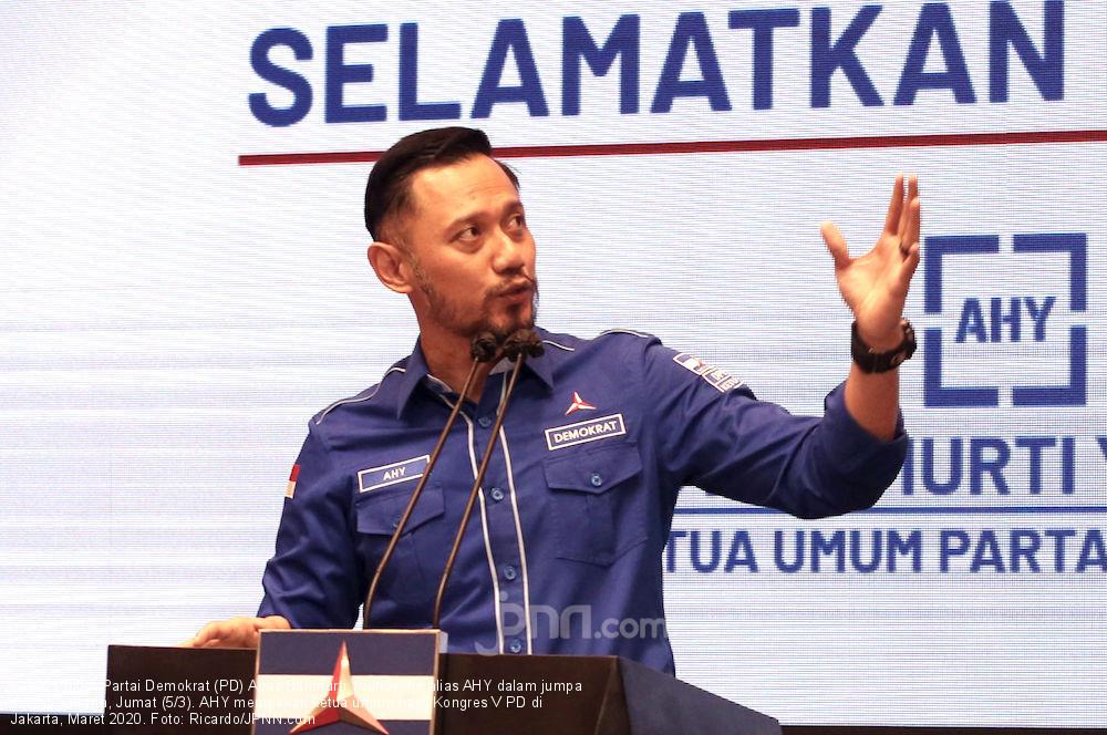 AHY Meminta dengan Hormat kepada Presiden Joko Widodo - JPNN.com