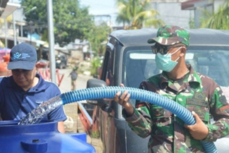 Pascagempa Sulbar, Air Bersih Masih Dibutuhkan, TNI AD Turun Tangan - JPNN.com