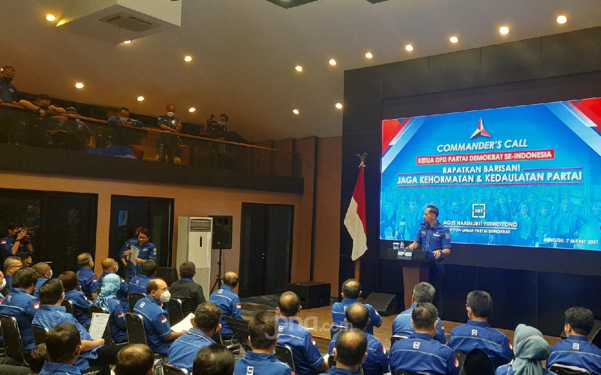 Emil Dardak Pertama Dipanggil AHY, Mengucap Janji Setia, Lawan! - JPNN.com