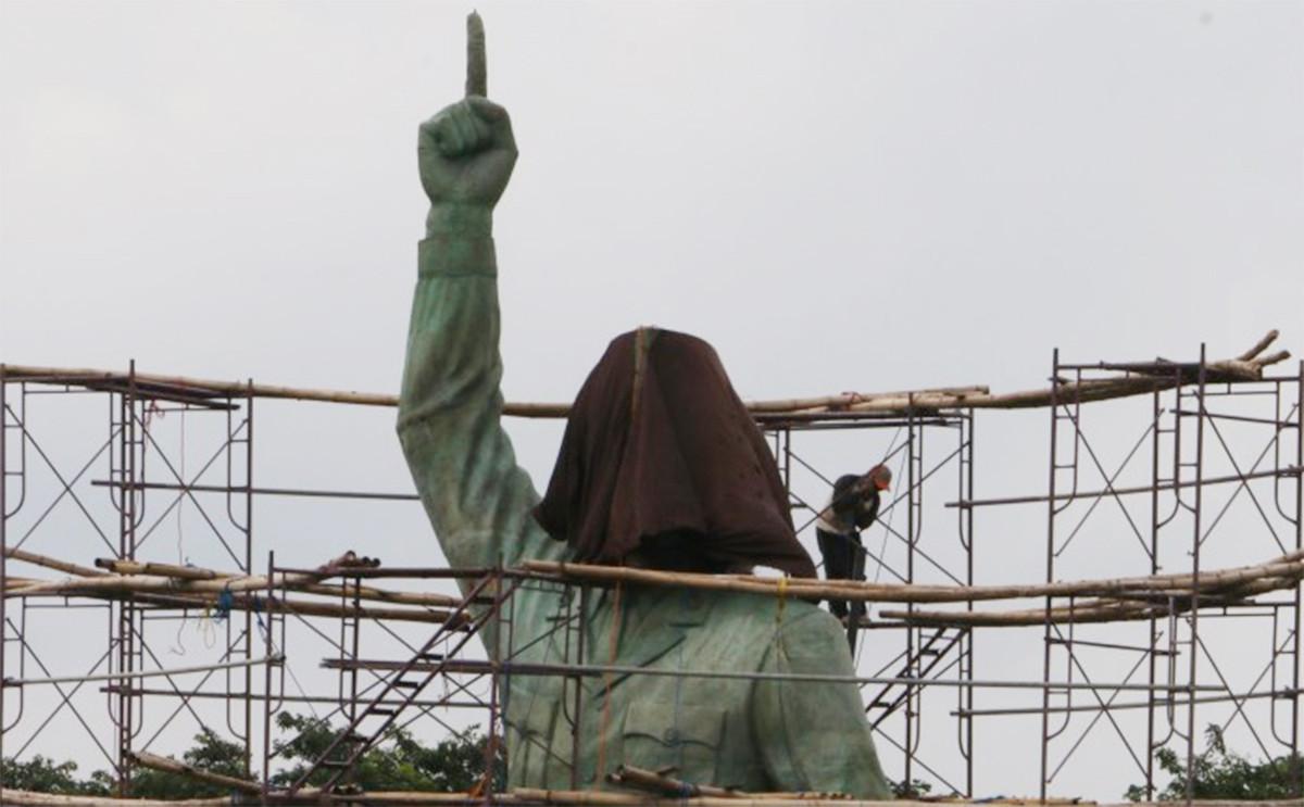 Patung Bung Karno Tertinggi di Dunia Bakal Berdiri di Sini, Rp 11 M, Menghadap ke Selatan - JPNN.com