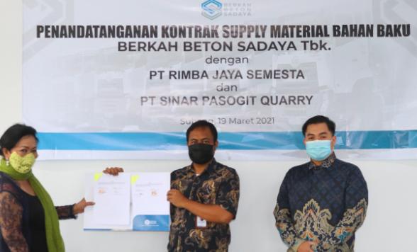 Berkah Beton Sadaya Garap Kontrak Suplai Batu dan Pasir Senilai Rp416 Miliar - JPNN.com
