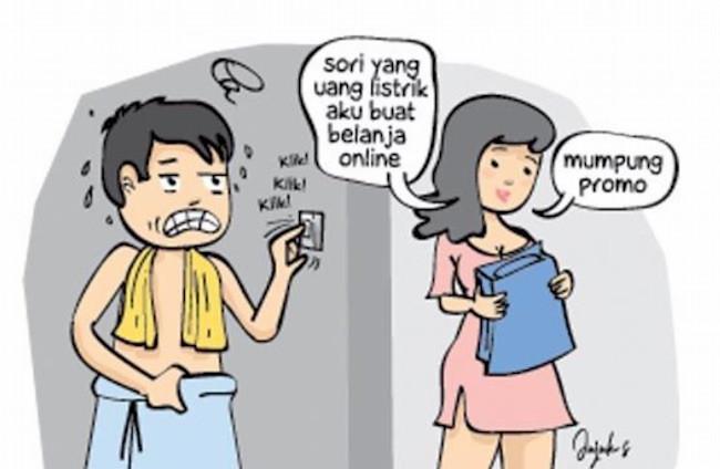 Akibat Istri Demen Belanja Online... - JPNN.com
