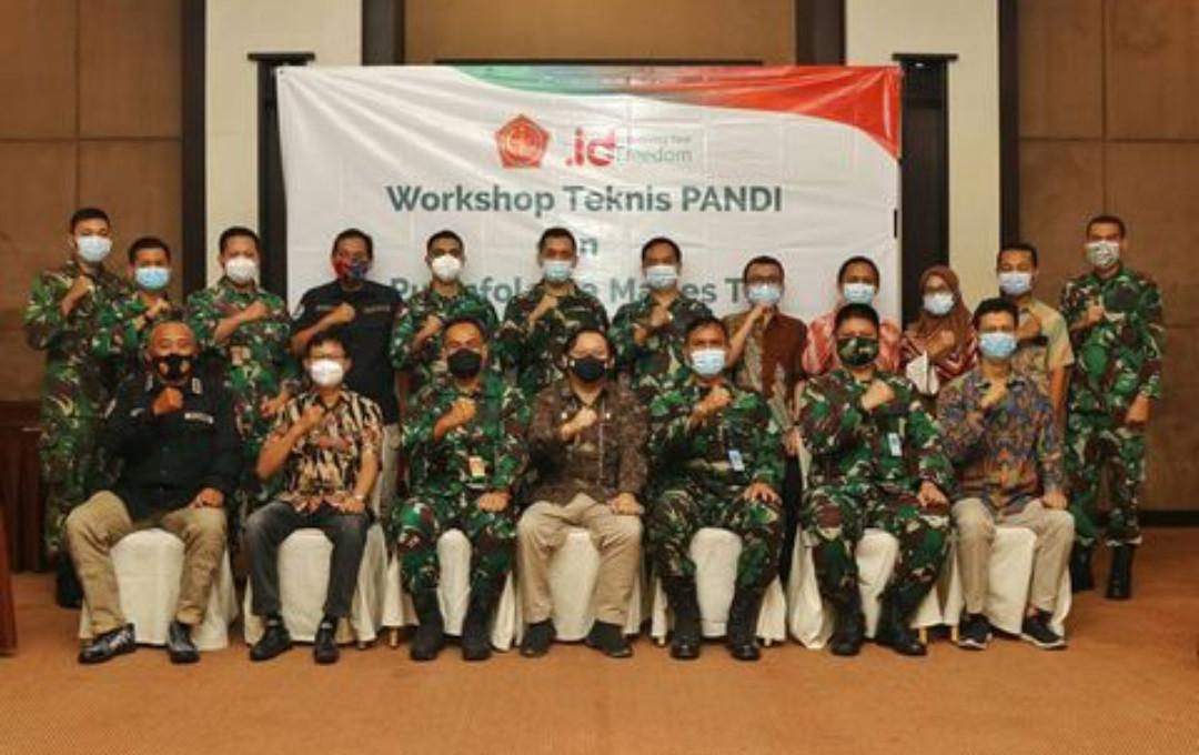 PANDI dan TNI Tingkatkan Layanan dan Keamanan Domain - JPNN.com