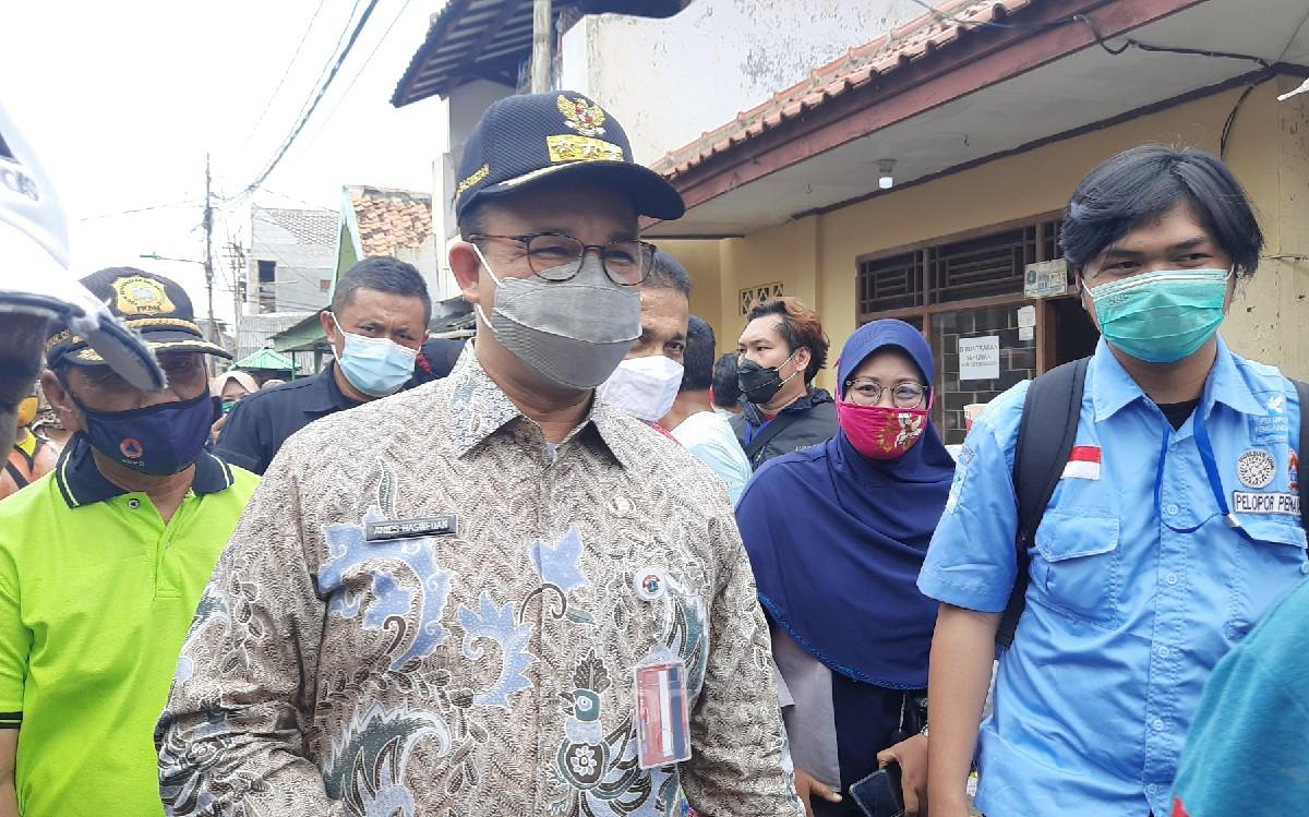 Kebakaran di Matraman Tewaskan 10 Orang, Anies Sebut Berbeda dari Biasanya - JPNN.com