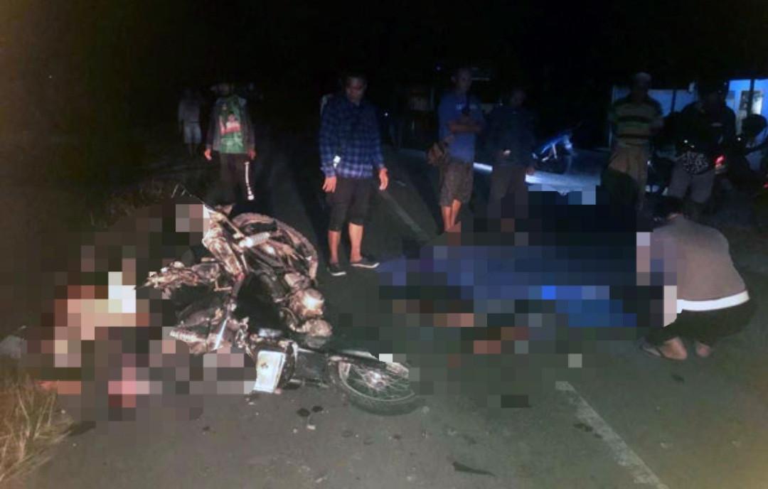 Motor Adu Banteng, Habib Tewas, Innalillahi - JPNN.com