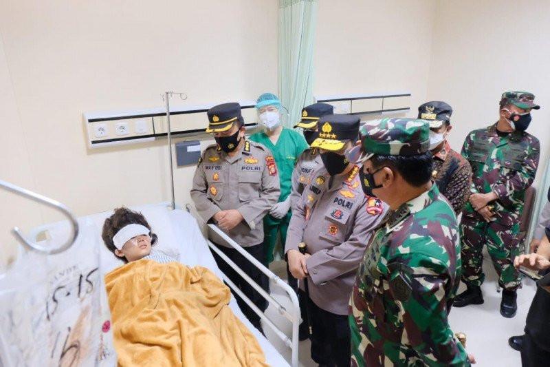 Kapolri Mengapresiasi Keberanian Sekuriti Gereja Katedral Adang Pelaku Bom Bunuh Diri - JPNN.com