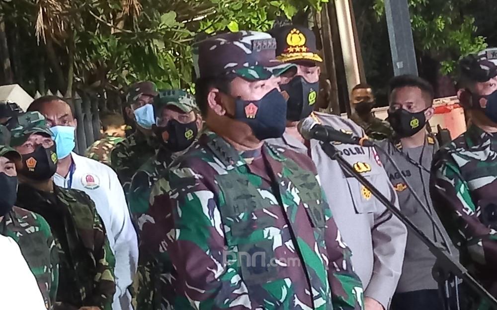 Terima Perintah Khusus dari Presiden Jokowi, Panglima TNI Langsung Datang ke Katedral Jakarta - JPNN.com