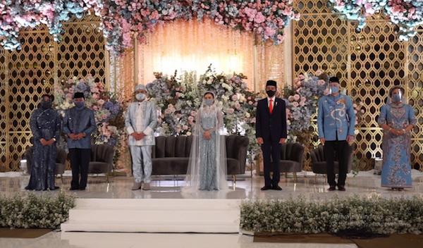Presiden Jokowi dan Airlangga Jadi Saksi Nikah Putri Politikus Golkar Idris Laena - JPNN.com