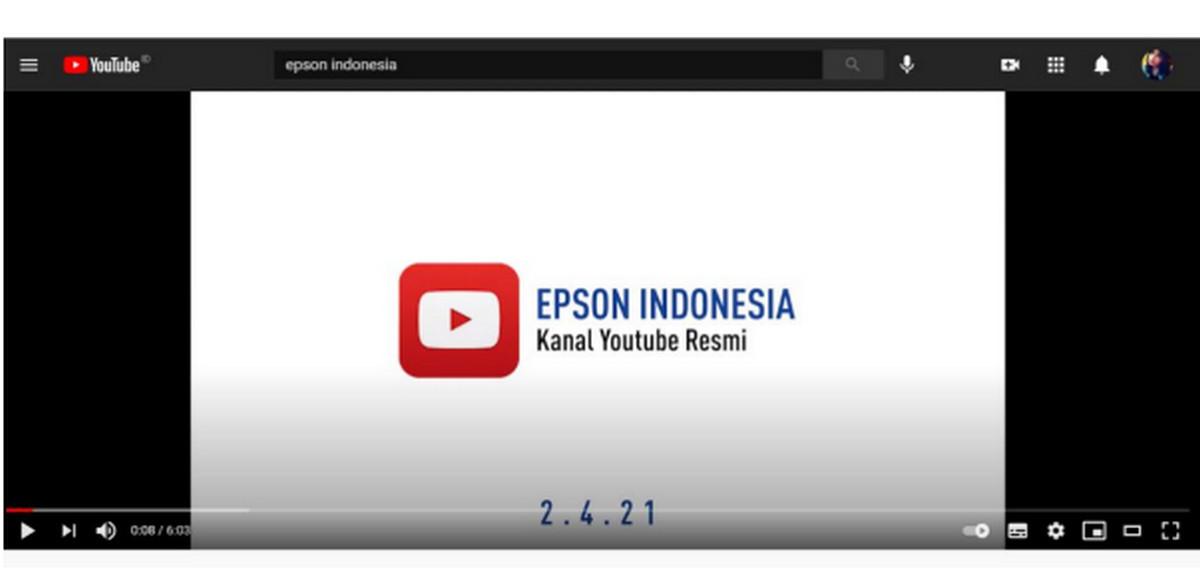 Lengkapi Platform Digital, Epson Indonesia Luncurkan Kanal YouTube Resmi - JPNN.com